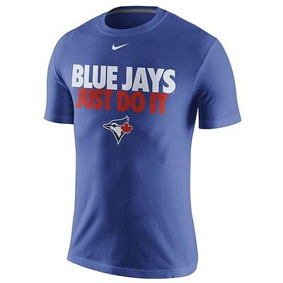 Mens Toronto Blue Jays Nike Just Do It T-Shirt L