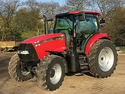 CASE MXU115 4WD TRACTOR , One owner from new, 7200 Hours, John deere , Massey