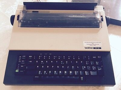 Brother CE-30 Type Writer Vintage Electric