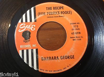Barbara George-The Recipe(For Perfect Fools)-Sue 773. Vg+