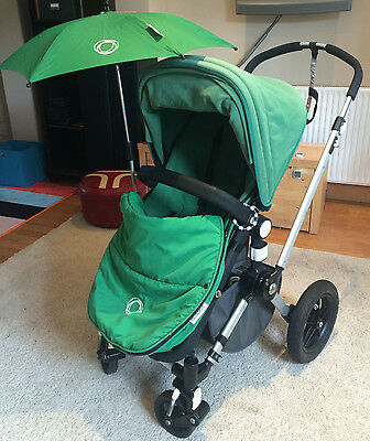 Bugaboo Cameleon Green Travel System Single Seat Stroller