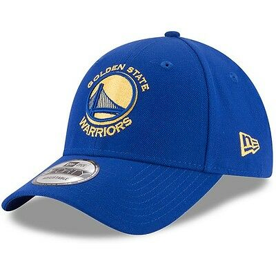 Golden State Warriors New Era 9Forty Official Team Colour Adjustable Cap,Royal