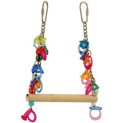 Swing of Rings - Small - Pet Parrot Bird Toy - Budgies, Lovebirds, Canaries etc