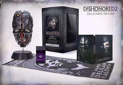 Jeu XBOX ONE Dishonored 2 collector edition neuf