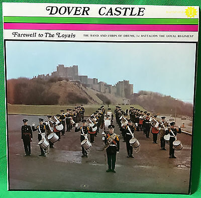 The Loyal Regiment Dover Castle Vinyl Record LP Military Marching Band