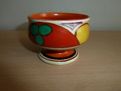 Stunning Clarice Cliff Small Footed Bowl Melons Design