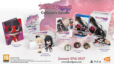 Jeu ps4 collector neuf tales of berseria new