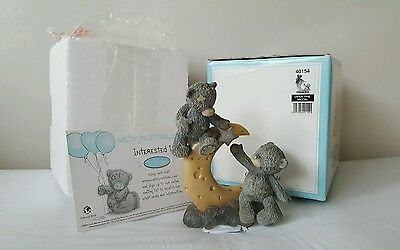 Me to You Bear Figurine 'Over the Moon' 40154 w/BOX Never Displayed