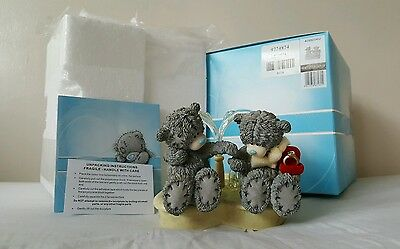 Me to You Bear Figurine 'Let our Love Flow' 40992 w/BOX Never Displayed