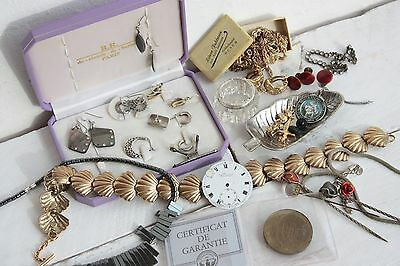Mixed Lot Jewellery Solid Silver 925 Hallmarked Coin Earrings Etc
