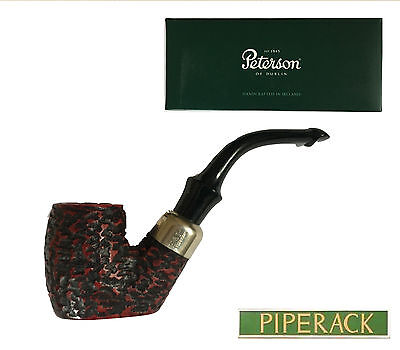 Peterson System Rustic 304  Briar Pipe    (New & Boxed) Free Standing Pipe