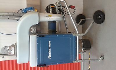 Dust and fume extractor, Nederman Filterbox
