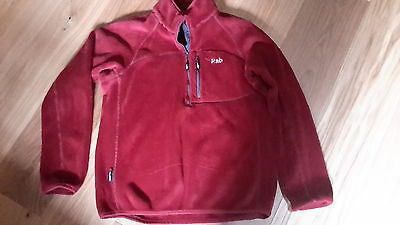 Men's Rab fleece size large. Hardly worn