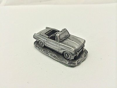 Triumph Herald 13/60 Convertible ref253 Pewter Effect 1:92 Scale model car