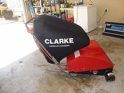 Clarke Space Vac 590 Industrial Commercial Wide Area Vacuum Cleaner Heavy Duty