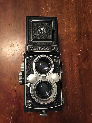 Yashica-D TLR 6 x 6