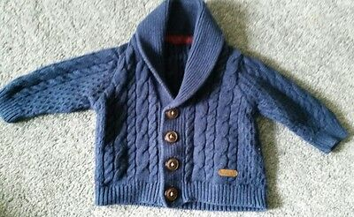 Autograph Marks and spencer baby boy cardigan 0-3 months