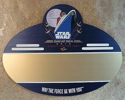 Disney Cruise Line-DCL-Star Wars Day at Sea Cast Member Name Tag