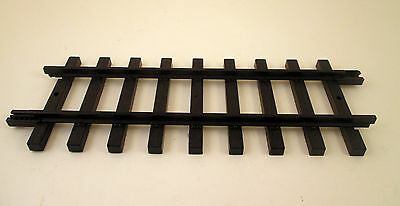 New Bright Replacement Straight Train Track 1998 Black Plastic G Scale