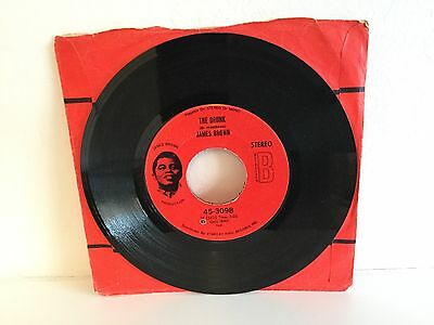 JAMES BROWN The Drunk 7 inch Single Funk Soul Vinyl (Polydor)