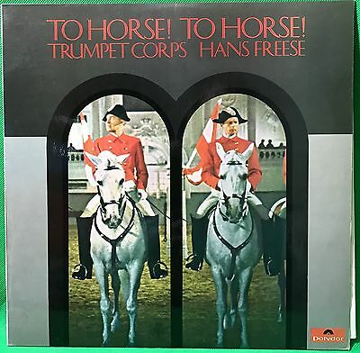Trumpet Corps Military Vinyl Record LP 'To horse! To horse!'