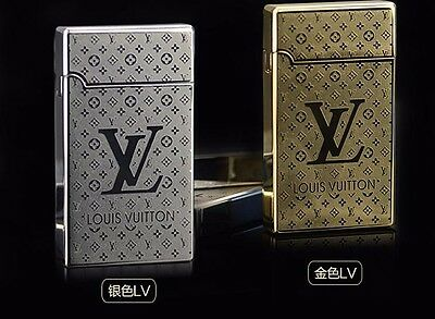 Luis Vuitton USB Rechargeable Lighter, Windproof, NO GAS