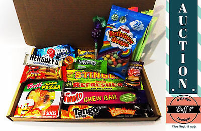 Hamper Gift Box Candy Sweets Present Birthday Retro Sweet American USA Easter