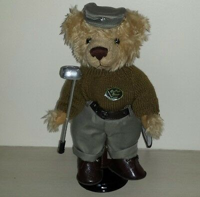 "Job Lot - 24 11"" Vanity Fair Golfer Teddy Bears"