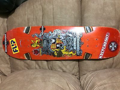 Flip Lance Mountain Crest skateboard deck used