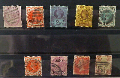 A collection Great Britain stamps of Queen Victoria, Used.#23.
