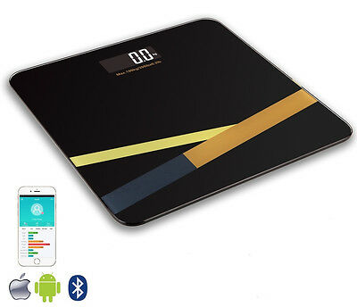 Digital Bathroom Scales with Bluetooth and App