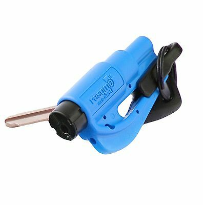 Resqme The Original Keychain Car Escape Tool, Made in USA, Blue