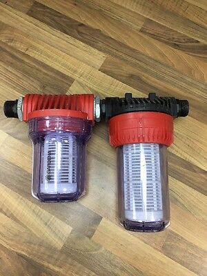 gardena water pump pre filter
