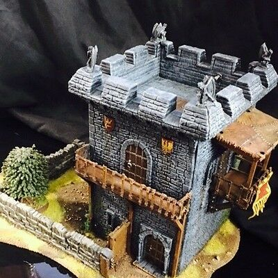 Games Workshop Warhammer or The Lord of the Rings Gaming Scenery Set - Painted