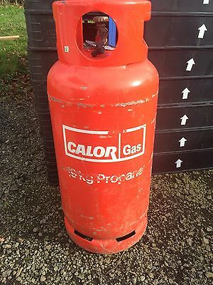 Empty 19kg propane gas bottle