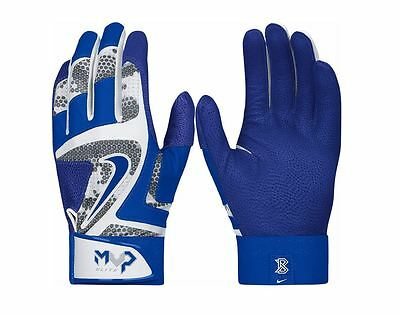 Nike MVP Elite Batting Gloves (GF0401-104) Royal Blue White leather sheepskin