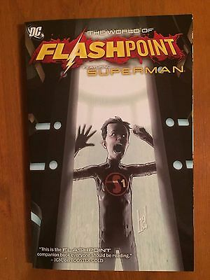 World of Flashpoint: Superman TPB