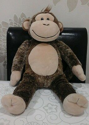 """Build A Bear Monkey 18"""" Great Condition"""