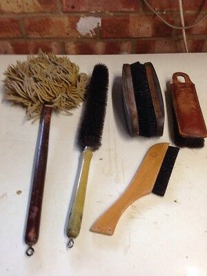 Vintage Brushes And Duster