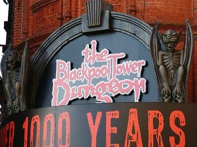 Blackpool Dungeon 2 For 1, Save £15.60