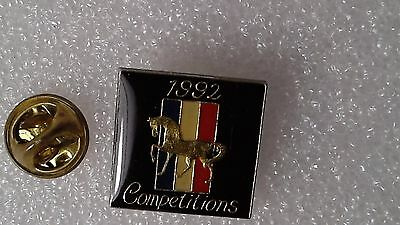 Pin's 1992 Competitions