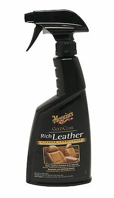 Meguiar's G10916C Gold Class Rich Leather Cleaner and Conditioner