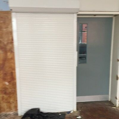 Electric roller shutter for added security