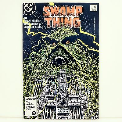 DC Comics SWAMP THING #52 by Alan Moore 1986 Near Mint Comic Book