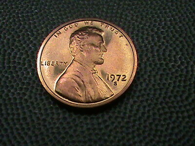 UNITED STATES   1 cent   1972  -  S    PROOF