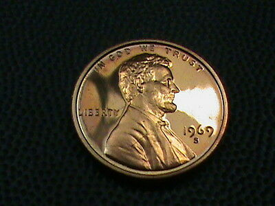 UNITED STATES   1 cent   1969  -  S    PROOF