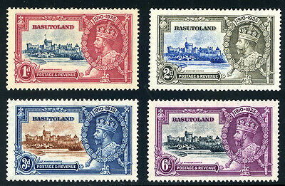 Basutoland  -  Silver  Jubilee  Stamps.