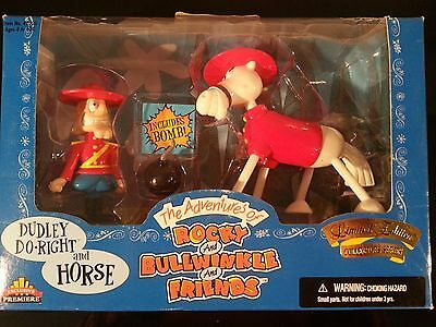 Vintage Dudley Do-right & Horse Limited Edition Collectible Series Jay Ward NEW