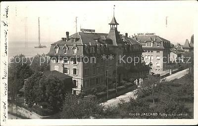 11736135 Lausanne VD Lycee Jaccard Pully Lausanne