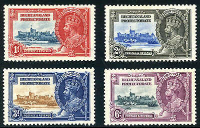 Bechuanaland  -  Silver  Jubilee  Stamps.